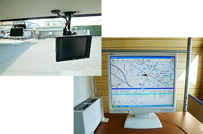 ドライブレコーダー、バックモニター、デジタルタコグフ搭載